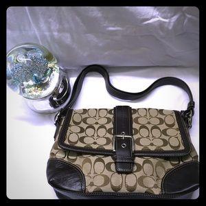 💕🆕💯 Coach brown shoulder bag 💙